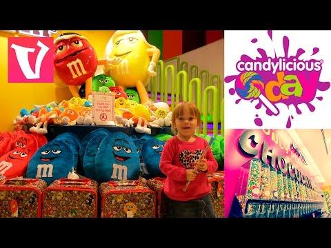 CANDYLICIOUS Самый большой магазин сладостей в мире / The largest candy store in Duabi