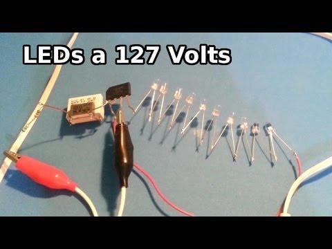 Como conectar varios led a la toma de 127 volts youtube - Como instalar lamparas led ...
