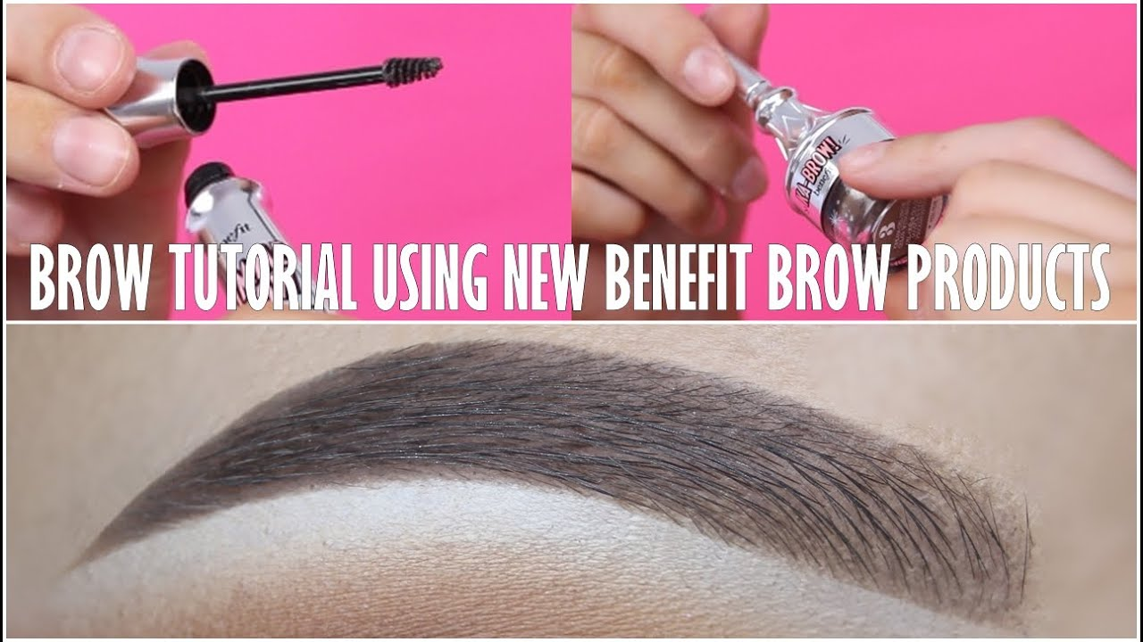 6d003b893b5 Eyebrow Tutorial (NEW Benefit Cosmetics Brow Products) - YouTube
