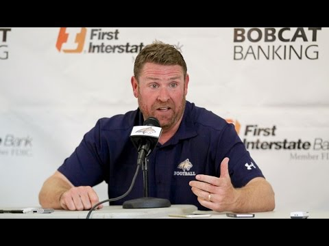 Montana State press conference - post North Dakota: Head coach Jeff Choate