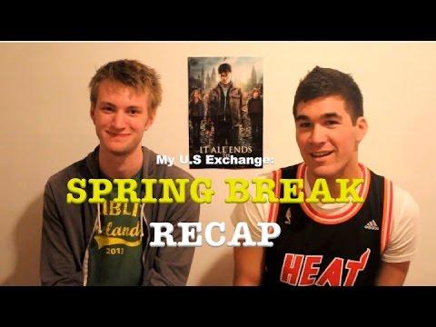 My U.S Exchange: Spring Break