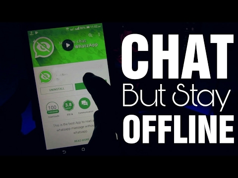 Chat In WhatsApp But Stay Offline 😎