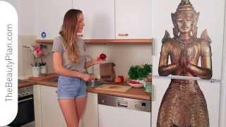 Vegan Stuffed Zucchini Recipe, Raw Vegan Or Baked, Low Fat. Eating For Beauty