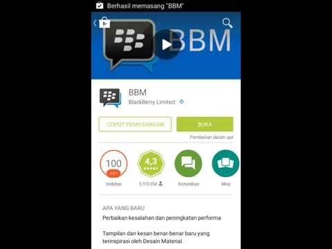 How To Download Application BBM on Android