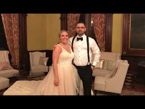 Music Man Entertainment Wedding Testimonials | Lauren & Nicholas | 10/13/18 | The Canfield Casino