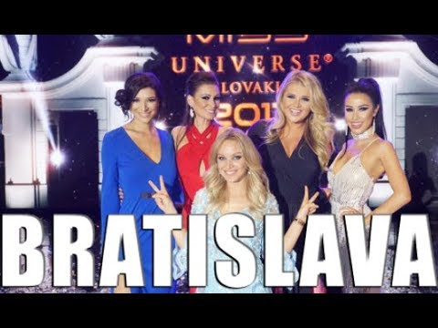 BRATISLAVA SLOVAKIA VLOG || Miss Universe Slovak Republic
