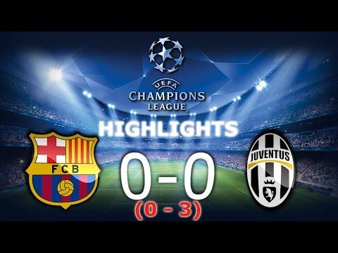 ⚽FC Barcelona 0-0 Juventus Turyn - Skrót / Highlights - Champions Leaugue 1/4 Final [19.04.2017]