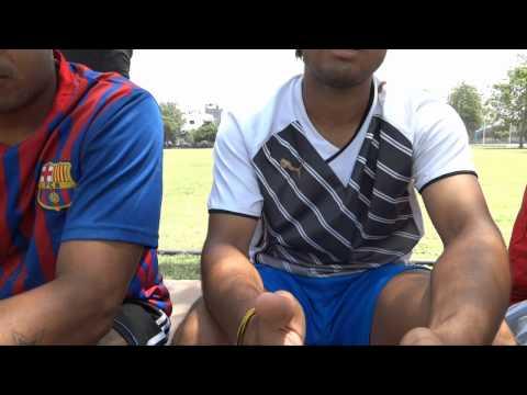 Delhi State Football Stars prepare for the Santosh Trophy