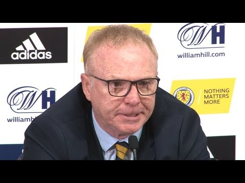 Scotland 2-0 Albania - Alex McLeish Full Post Match Press Conference - UEFA Nations League