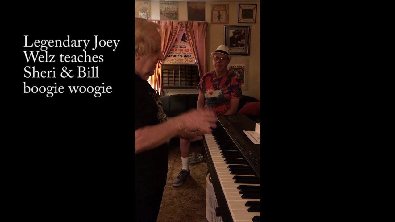 Joey Welz Gives Sheri & Bill a Boogie Woogie Lesson