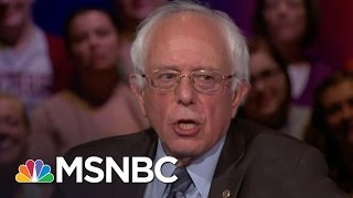 Bernie Sanders Highlights Civil Rights | Democratic Forum | MSNBC