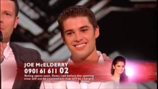 X Factor 2009 Live Show 9 Semi Finals - Joe McElderry sings ...