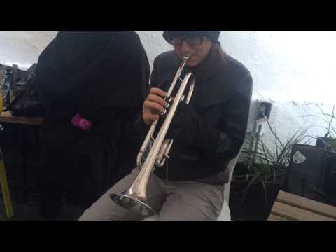 Kanye West All Of The Lights on the Trumpet  Anna Garcia