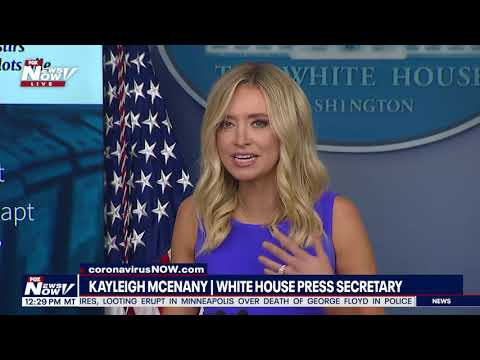 """""""DEAD PEOPLE VOTE"""" Kayleigh McEnany SLAMS Media Over Mail In Ballots Controversy"""