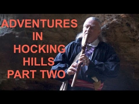 "TRAVEL GUIDE: Storytelling With A Shawnee Indian ""Hocking Hills"""