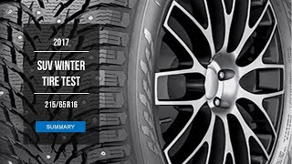 2017 Winter Tire Test Results | 21565 R16 Studded