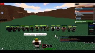 Roblox-organizzato gruppo NEA nazionale Elite dell'esercito