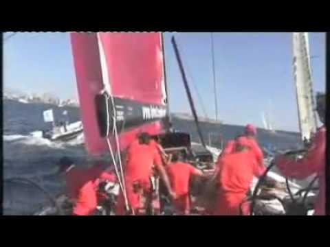 Live Alicante In Port Race 1   Volvo Ocean Race 2008-09