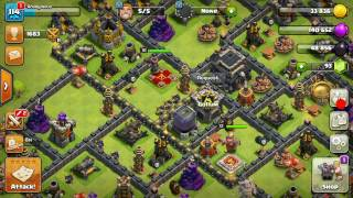 HOW TO FIND DEAD BASES IN EVERY CLICK CLASH OF CLANS