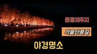 4 여행 / 충북 인근 괴산 문광저수지 / 문경새재 주…