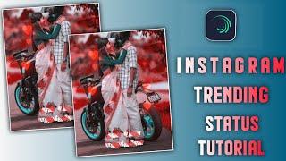 Instagram Trending Status Video Tutorial Alight Motion Tamil   Alight motion Trending Lyrics