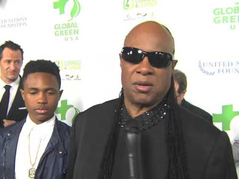 Stevie Wonder Talks Climate Change & Why He Dedicated His Oscar to Nelson Mandela