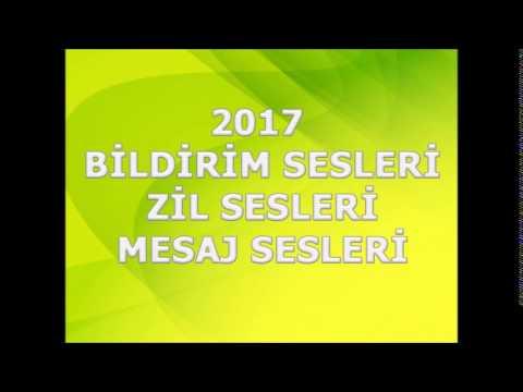 Zil sesi, Bildirim Sesi, Mesaj Sesi, 2017