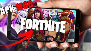 RUNS 💥 FORTNITE MOBILE ANDROID NOW RUNS ON MORE MOBILES APK MOD UPDATED! -DOWNLOAD FORTNITE