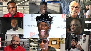 "Meet TEAM KSI......""I'm a different animal than I was last year!!"