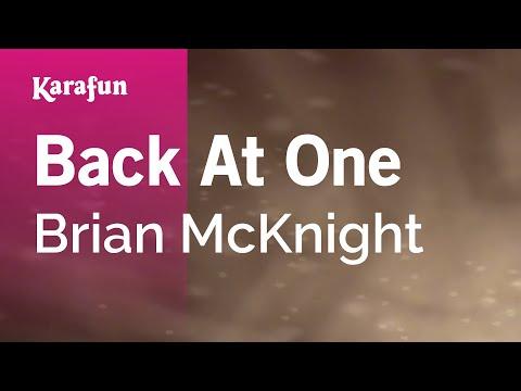 Karaoke Back At One - Brian McKnight *