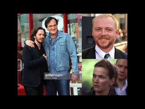 "Simon Pegg, Edgar Wright, Quentin Tarantino, Jessica Hynes commentary on ""Spaced"""