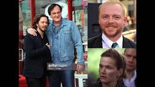 Simon Pegg, Edgar Wright, Quentin Tarantino, Jessica Hynes commentary on