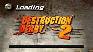 Destruction Derby 2 gameplay (PC Game, 1996)