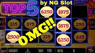 Top  JACKPOTS In 2018 By NG |Great Moai |Lightning Link  |Jin Long 888 | Mighty Cash | Lock It Link