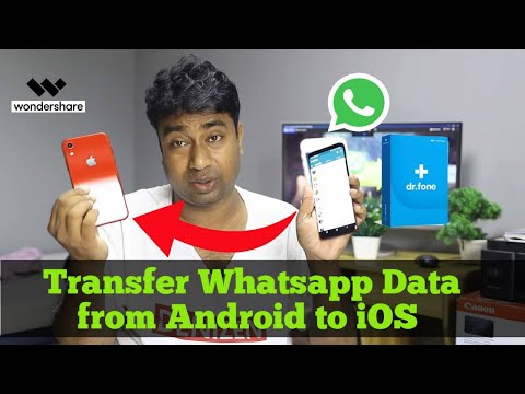 Transfer WhatsApp Messages Android To iPhone/ iPhone To Android🔥 Whatsapp Data Transfer.