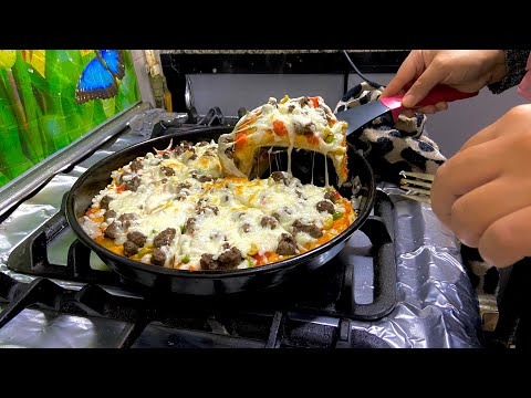 صورة  طريقة عمل البيتزا ماما سناء اتحديتني في عمايل البيتزا 😡 طريقة عمل البيتزا من يوتيوب