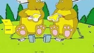 Kinderliedjes ik zag twee beren broodjes smeren