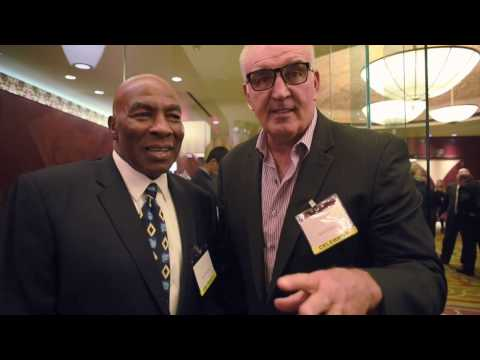 Dr. Theodore A. Atlas Foundation Teddy Dinner: Earnie Shavers and Gerry Cooney
