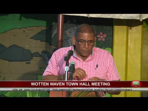 WOTTEN WAVEN TOWN HALL MEETING