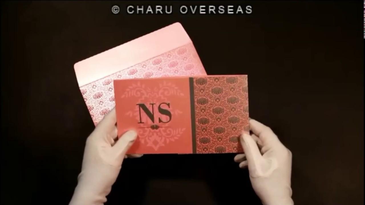 Christian Wedding Invitations | C-8261D | 123WeddingCards - YouTube