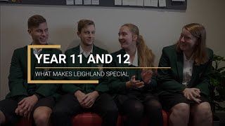 Year 11 & 12  -  From a Student Perspective