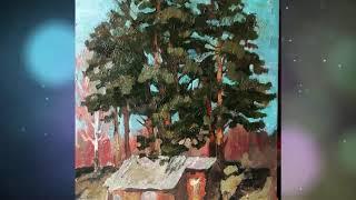 Художник Татьяна Краснова (город Уфа, проект «Любимые художники Башкирии»)