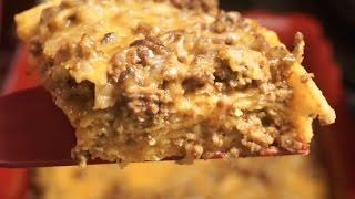 Enchilada Casserole Quick and Easy Recipe Vlogmas Day 10