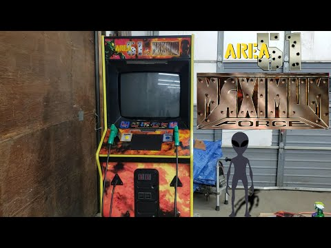 Area 51 / Maximum Force Combo Arcade Project – BIG UPDATE!