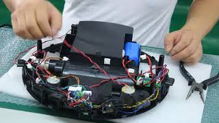 robot vacuum cleaner disassemble