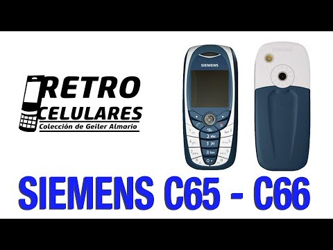 SIEMENS C65 - C66 Colección Celulares Clásicos, antiguos o viejos old cell phones RETRO CELULARES