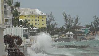Hurricane Irma First Impacts On Nassau Bahamas - 9/8/2017