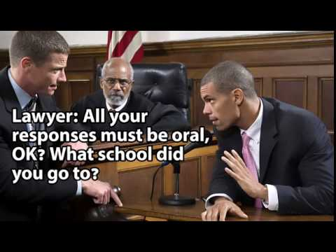Funny courtroom quotes - YouTube