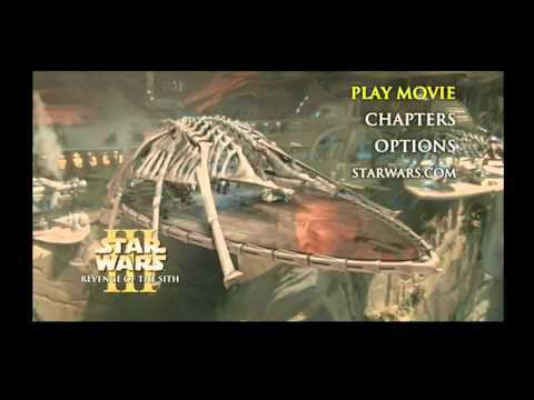 Opening To Star Wars Episode Iii Revenge Of The Sith 2005 Dvd Paramount Dvd Print Youtube