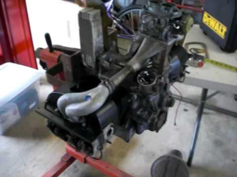 vw volkswagen type 1 1600 engine stand motor cradle youtube. Black Bedroom Furniture Sets. Home Design Ideas